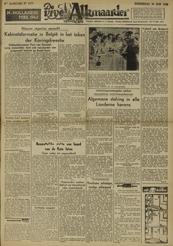 De Vrije Alkmaarder 1949-06-30