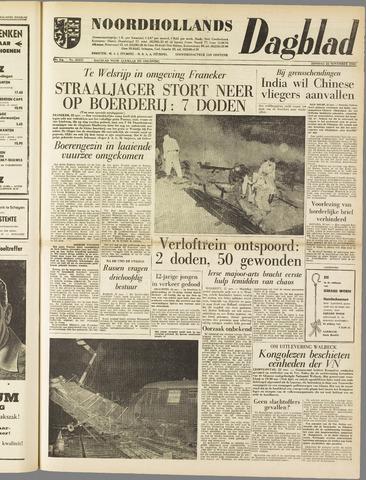 Noordhollands Dagblad : dagblad voor Alkmaar en omgeving 1960-11-22