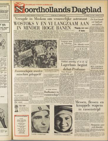 Noordhollands Dagblad : dagblad voor Alkmaar en omgeving 1963-06-17