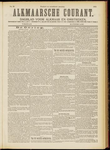 Alkmaarsche Courant 1915-02-12