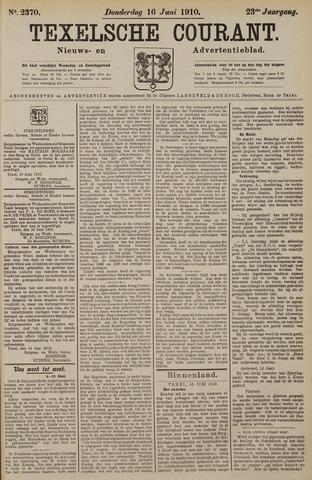 Texelsche Courant 1910-06-16