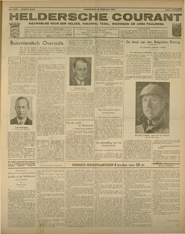 Heldersche Courant 1934-02-22