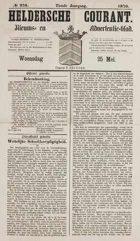 Heldersche Courant 1870-05-25