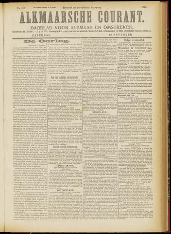 Alkmaarsche Courant 1915-11-13