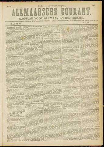 Alkmaarsche Courant 1919-04-28