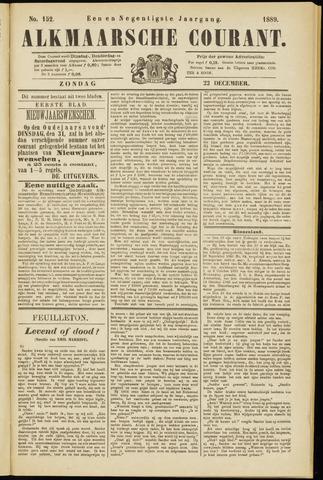 Alkmaarsche Courant 1889-12-22