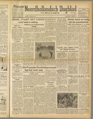 Nieuw Noordhollandsch Dagblad : voor Alkmaar en omgeving 1947-02-15