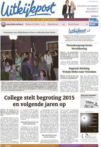 Uitkijkpost : nieuwsblad voor Heiloo e.o. 2014-10-29