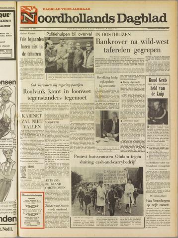 Noordhollands Dagblad : dagblad voor Alkmaar en omgeving 1969-09-18
