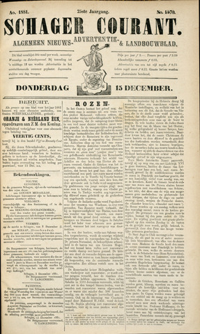 Schager Courant 1881-12-15