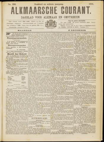 Alkmaarsche Courant 1906-12-17