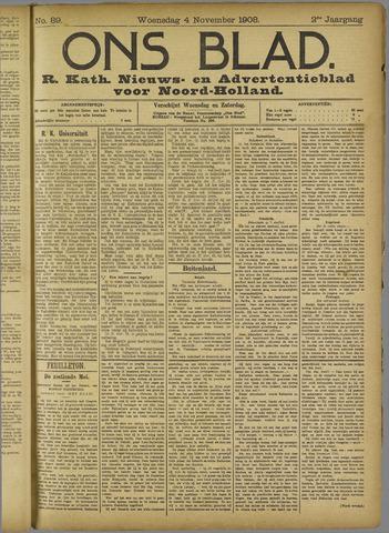 Ons Blad : katholiek nieuwsblad voor N-H 1908-11-04