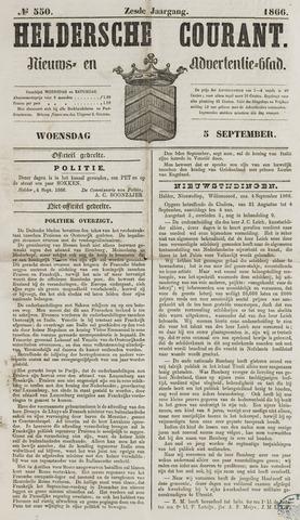 Heldersche Courant 1866-09-05