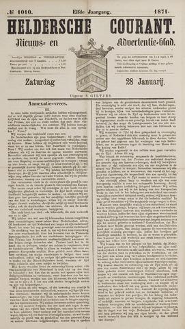 Heldersche Courant 1871-01-28