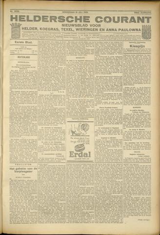 Heldersche Courant 1925-07-16