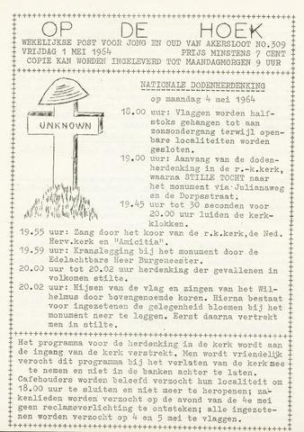 Op De Hoek, weekblad voor Akersloot 1964-05-01