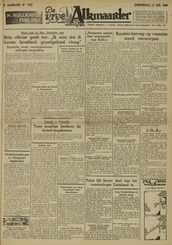 De Vrije Alkmaarder 1949-01-13
