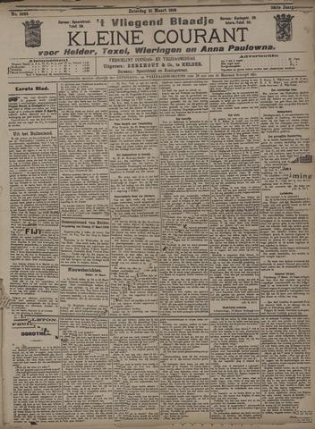 Vliegend blaadje : nieuws- en advertentiebode voor Den Helder 1908-03-21