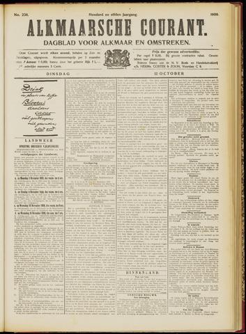 Alkmaarsche Courant 1909-10-12