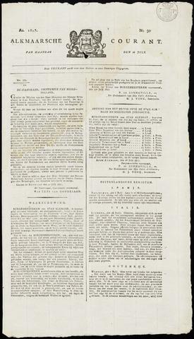 Alkmaarsche Courant 1817-07-28