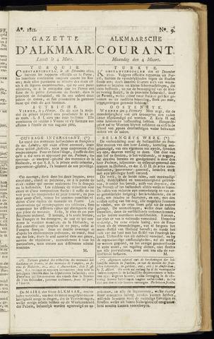 Alkmaarsche Courant 1811-03-04