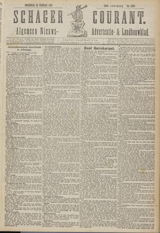 Schager Courant 1920-02-26