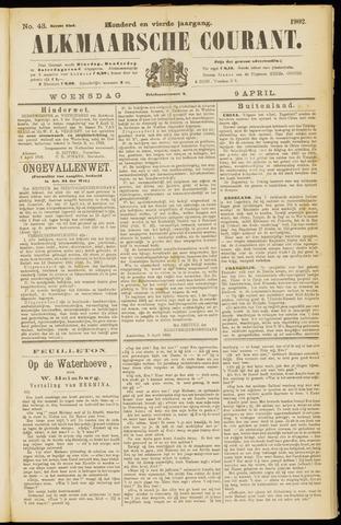 Alkmaarsche Courant 1902-04-09