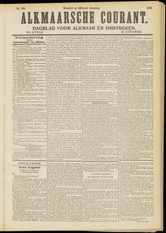 Alkmaarsche Courant 1913-10-13