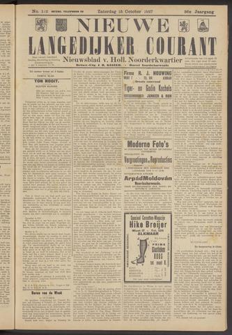 Nieuwe Langedijker Courant 1927-10-15