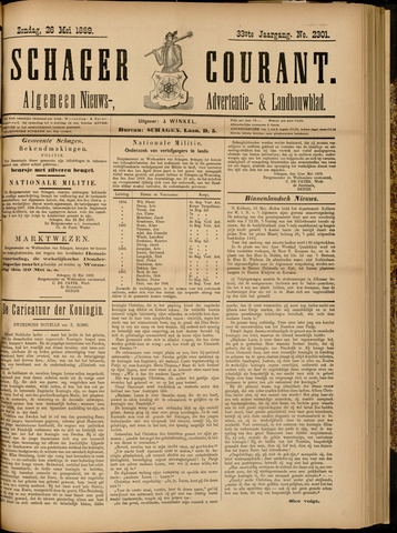 Schager Courant 1889-05-26