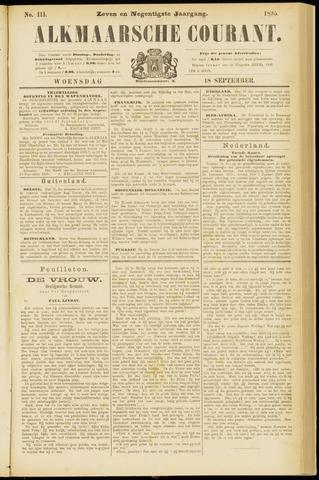 Alkmaarsche Courant 1895-09-18