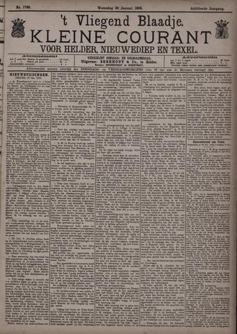Vliegend blaadje : nieuws- en advertentiebode voor Den Helder 1890-01-29