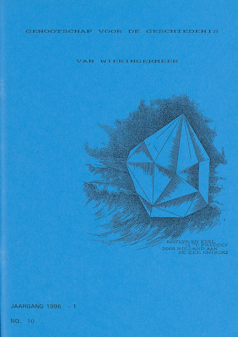 Kroniek Historisch Genootschap Wieringermeer 1996