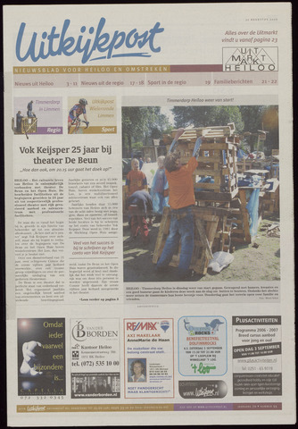 Uitkijkpost : nieuwsblad voor Heiloo e.o. 2006-08-30