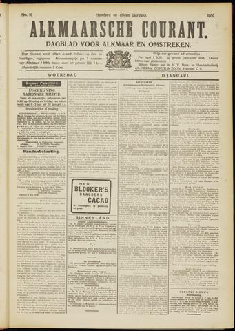 Alkmaarsche Courant 1909-01-13