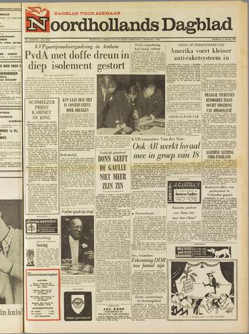 Noordhollands Dagblad : dagblad voor Alkmaar en omgeving 1969-03-15