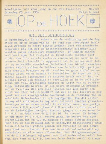 Op De Hoek, weekblad voor Akersloot 1956-06-23