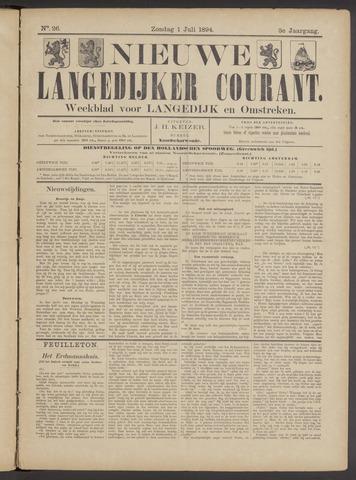 Nieuwe Langedijker Courant 1894-07-01