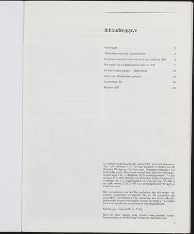 Jaarboek Oud Castricum 1988-11-01