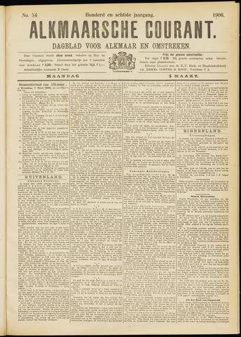 Alkmaarsche Courant 1906-03-05