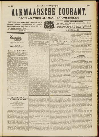 Alkmaarsche Courant 1910-02-04