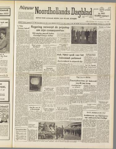 Nieuw Noordhollandsch Dagblad : voor Alkmaar en omgeving 1950-09-22
