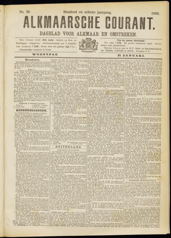 Alkmaarsche Courant 1906-01-31
