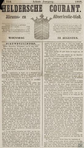 Heldersche Courant 1868-08-12