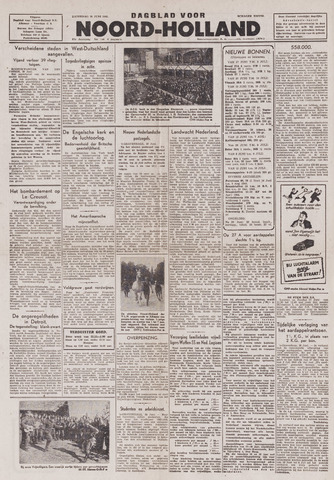 Dagblad Noord-Holland, Schager editie 1943-06-26
