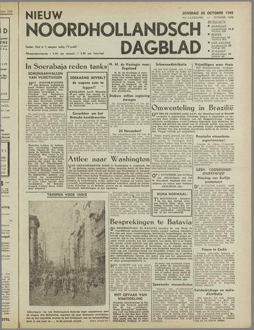 Nieuw Noordhollandsch Dagblad : voor Alkmaar en omgeving 1945-10-30