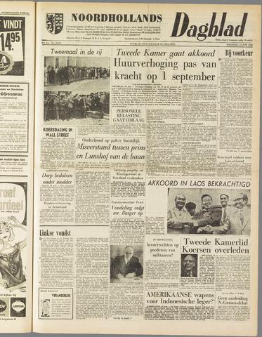 Noordhollands Dagblad : dagblad voor Alkmaar en omgeving 1962-06-13