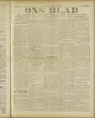 Ons Blad : katholiek nieuwsblad voor N-H 1920-09-11