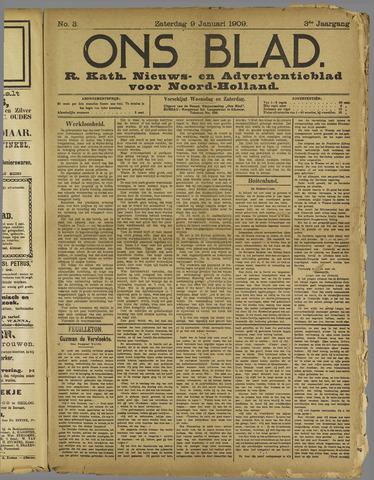 Ons Blad : katholiek nieuwsblad voor N-H 1909-01-09