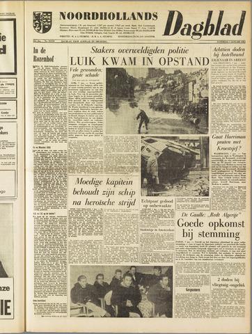 Noordhollands Dagblad : dagblad voor Alkmaar en omgeving 1961-01-07